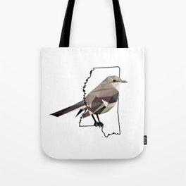 Mississippi – Northern Mockingbird Tote Bag