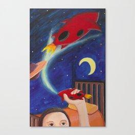 Rockets Canvas Print