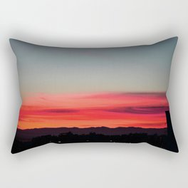 urban sunset Rectangular Pillow
