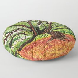 Angel Oak Floor Pillow
