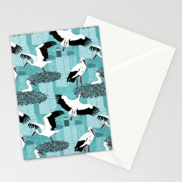 Storks Stationery Cards