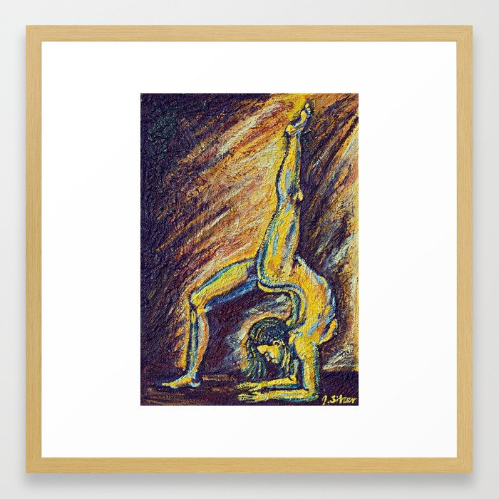 Meraki Framed Art Print
