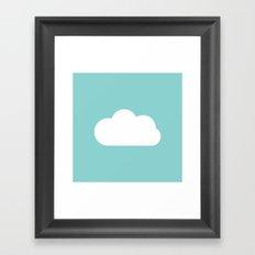 Every Cloud Framed Art Print