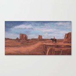 A desert affair Canvas Print