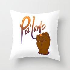 Pa'lante Throw Pillow