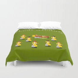 12 Days Of Christmas Nutcracker Theme: Day 8 Duvet Cover