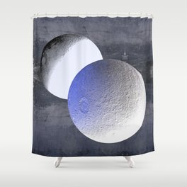 A Final Ingathering Shower Curtain