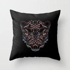 Tiger Abstract Throw Pillow
