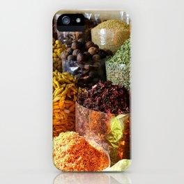 Dubai Creek Spices iPhone Case