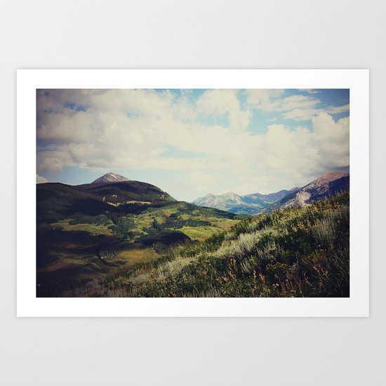 Mountain Spirit Art Print