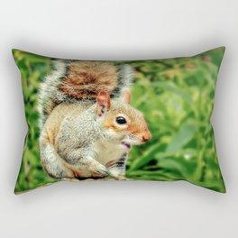 Cheeky Grey Rectangular Pillow