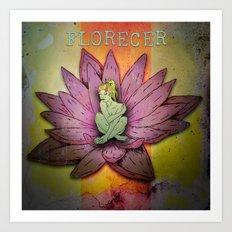 Florecer Art Print