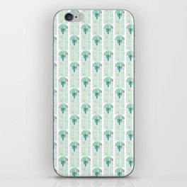 Green Jellyfish iPhone Skin