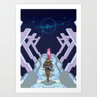 halo Art Prints featuring Halo by Joe Byrne