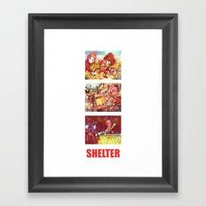 Shelter Girl  Framed Art Print