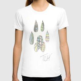 Mosaic Pawprint T-shirt