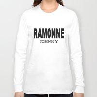 cassia beck Long Sleeve T-shirts featuring Beck: Koyuki's RAMONNE JOHNNY T-Shirt Concept by KeithKarloff