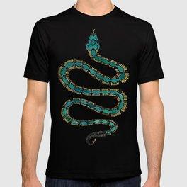 Emerald & Gold Serpent T-shirt
