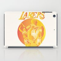 lakers iPad Cases featuring Lakers by Istvan Antal