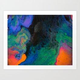OMG YESSS UV Art Print