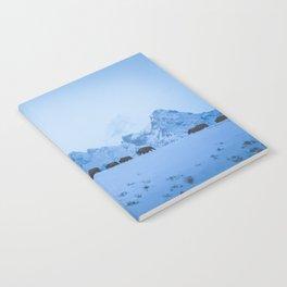 Snowy Bison Notebook