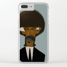 Samuel L.Jackson Clear iPhone Case