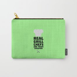 Real Grill Chefs are from Singapore T-Shirt Db2oj Carry-All Pouch