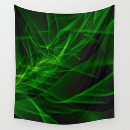 Glowstick Light painting Wall Tapestry
