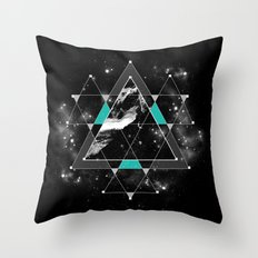 Time & Space Throw Pillow