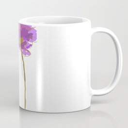 Purple Poppy Coffee Mug