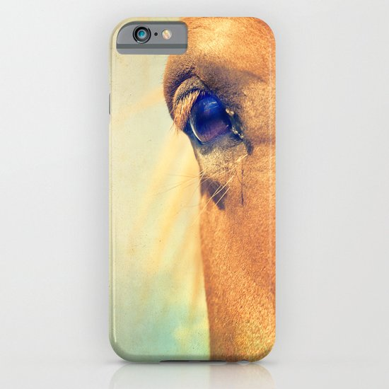 Horse Dreaming iPhone & iPod Case