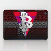 denmark iPad Cases featuring bitcoin denmark by seb mcnulty