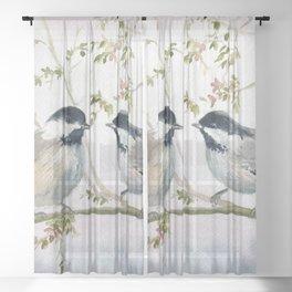 Chickadee Sheer Curtain