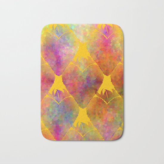 Berry Hearts Bath Mat