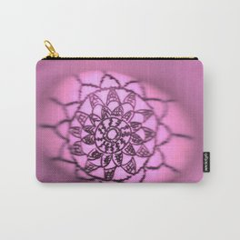 Oil on rock -- pink Carry-All Pouch