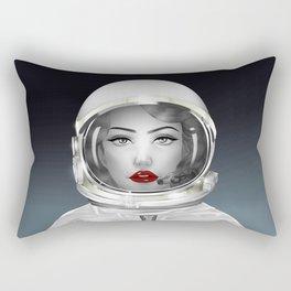 Space Lady Rectangular Pillow