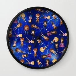 Teenage Demigods Wall Clock