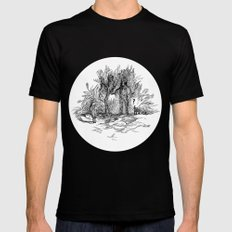Creatures of nature Mens Fitted Tee Black SMALL