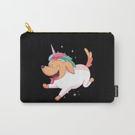 Cute Unicorn Dog Unicorns Dogs Carry-All Pouch