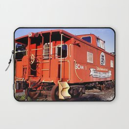 Lil Red Caboose -Wellsboro Ave Hurley ArtRave Laptop Sleeve