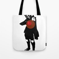 boba Tote Bags featuring Boba by michael newton