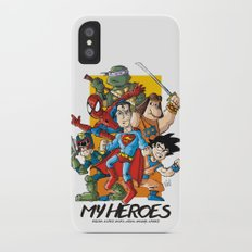 My Heroes Slim Case iPhone X