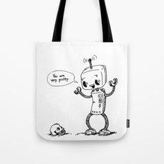 Loving Robot Tote Bag