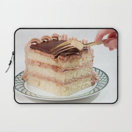 Layered Cake with Frosting Photograph Laptop Sleeve