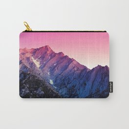 Magenta Tinted Hillside Carry-All Pouch