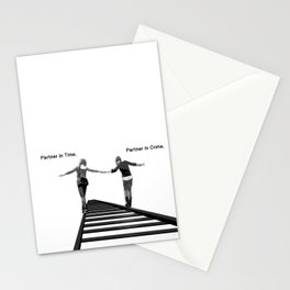 Partner in Time, Partner in Crime, Max Caulfield and Chloe Price Train Tracks Stationery Cards