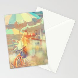Seaside Town Stationery Cards