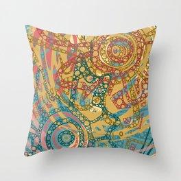 Bloom Blender Throw Pillow