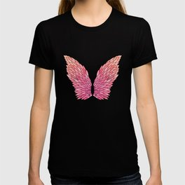 Pink Angel Wings T-shirt