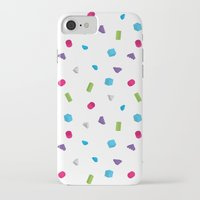 confetti iPhone & iPod Cases featuring Confetti by Eric Zelinski